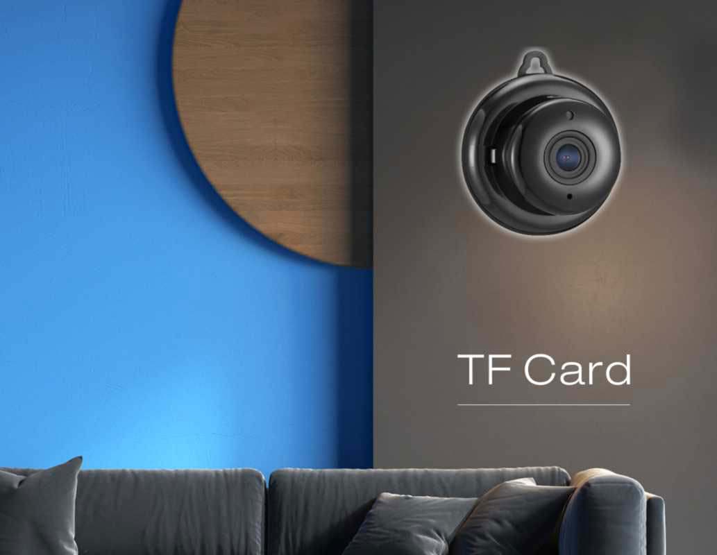 Mini TF Card Smart home Wifi Camera